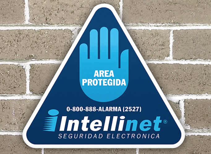 Cartel exterior Intellinet