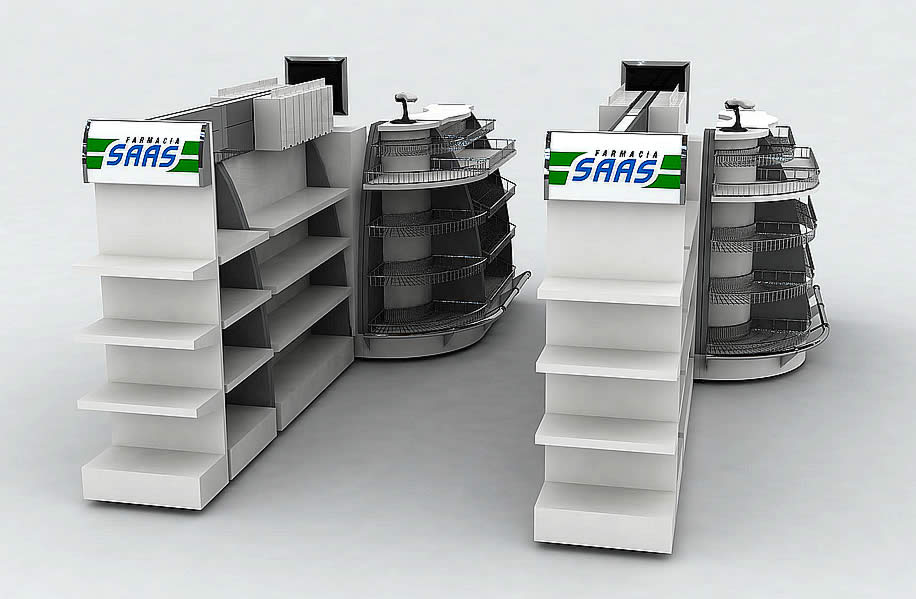 Farmacia SAAS - Equipamiento para check out